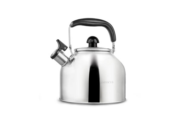 AMFOCUS Tea Kettle Whistling Teapot for Stove