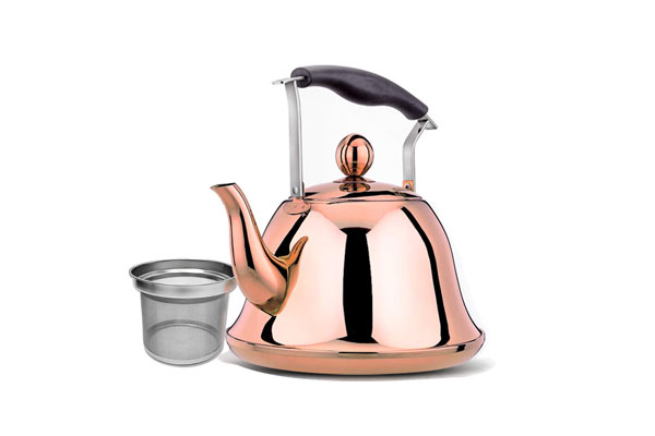 Rose Gold Whistling Tea Kettle