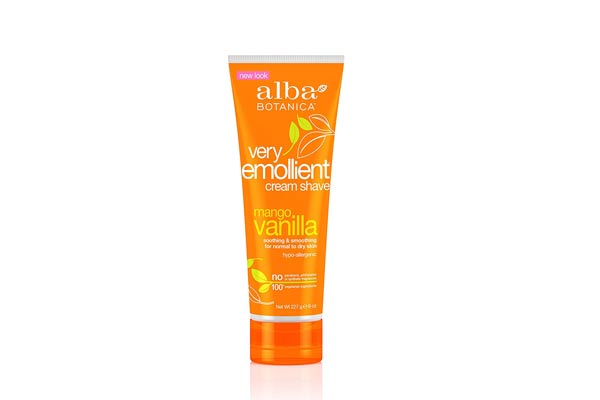Alba Botanical Mango Vanilla Shaving cream