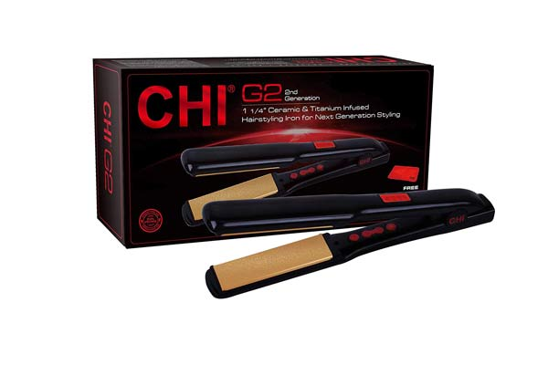 CHI G2 Ceramic and Titanium Hairstyling Iron