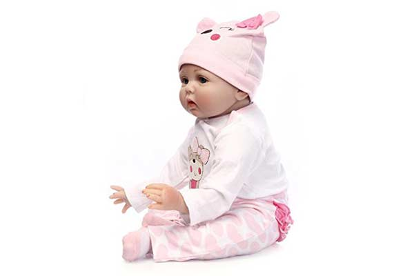 Reborn Baby Doll LifeLike Silicon Doll