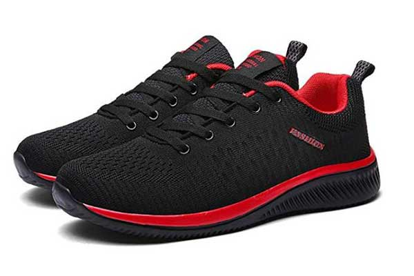 WL Mesh Breathable Running Red Bottom Shoes
