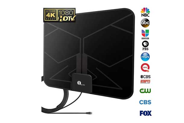 1 Byone 25 mile digital indoor TV antenna