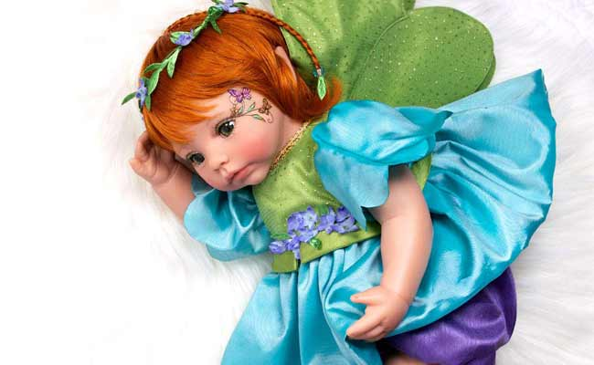 Paradise Galleries Custom Reborn Fairy Doll