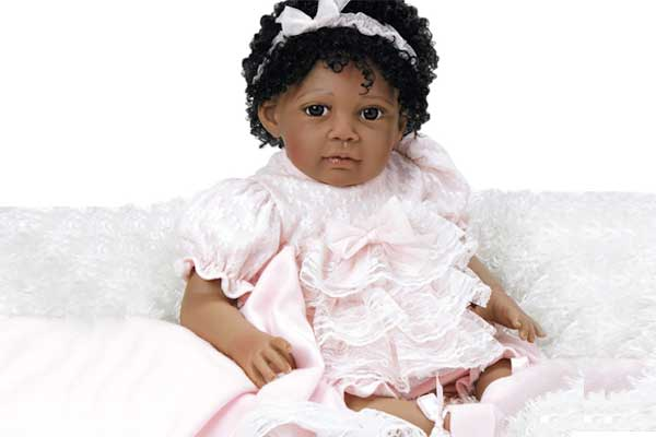 Paradise Galleries Reborn Black African American Doll