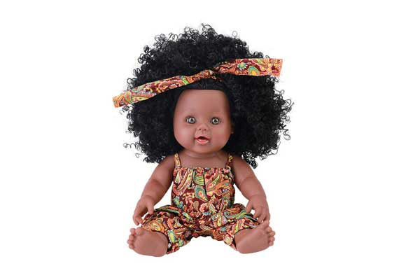 Tusalmo Black Baby Girl Doll